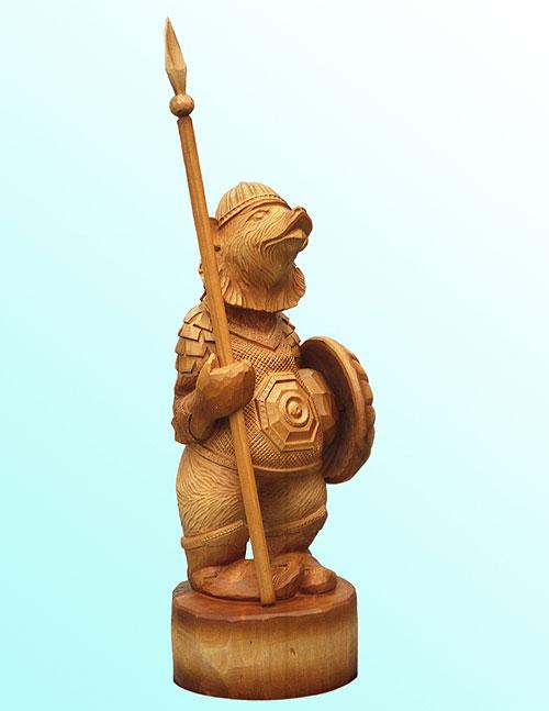рукодельница осваивала фигуры воинов фото деревянных вырос