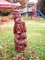 резьба по дереву скульптура