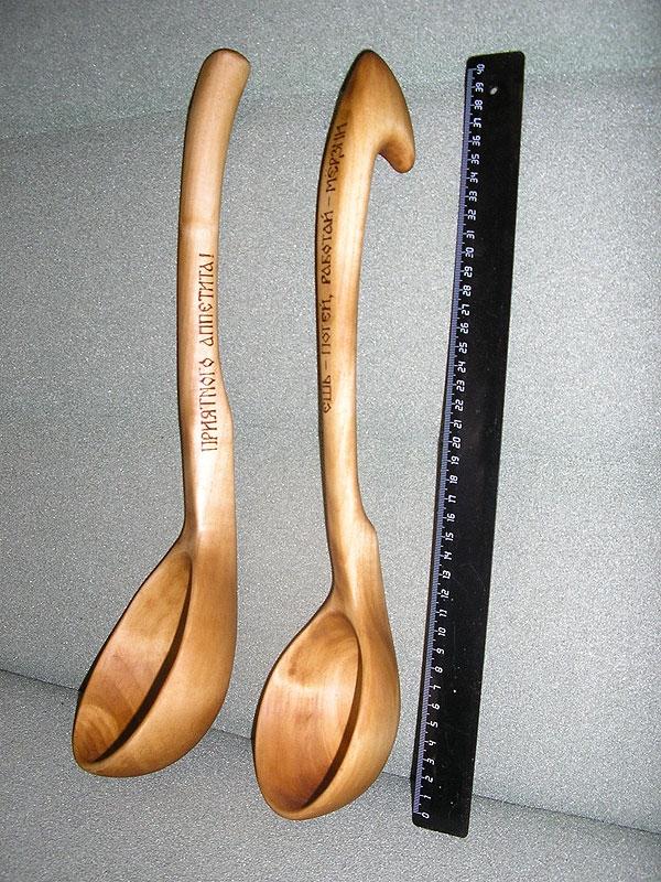 Деревянная ложка своими рук