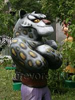 Резьба по дереву. Скульптура Тайлунга выполнена в дереве